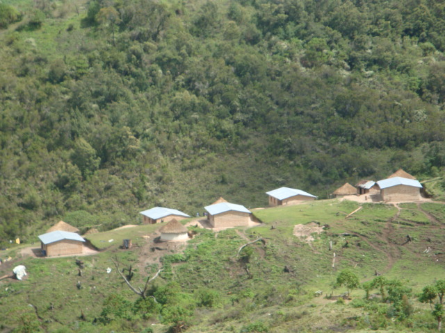 five children's homes in Emmanuel Centre in the mountains of Eastern Congo.
