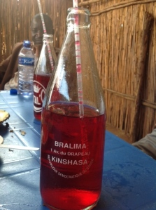 Vitalo, a very sweet drink popular in Congo.  It is rather like sweet coloured water.